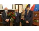 Franciszek Borzych odebrał tytuł Zasłużonego Obywatela Gminy Chojnice