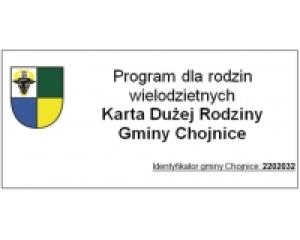 Program Karty Dużej Rodziny Gminy Chojnice