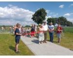 Otwarcie ścieżki rowerowej wraz z zagospodarowaniem terenu rekreacyjnego w miejscowości Ciechocin
