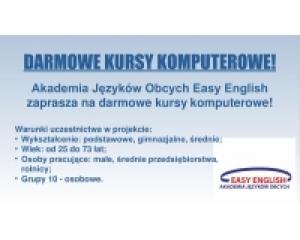 Akademia Języków Obcych Easy English zaprasza na kursy komputerowe