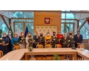 Uroczyste wręczenie Nagród Wójta z okazji Dnia Edukacji Narodowej.