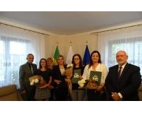 Uroczystość wręczenia aktów nadania stopnia awansu zawodowego dla nauczycieli Szkół Gminy Chojnice
