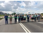 Uroczyste otwarcie dróg gminnych